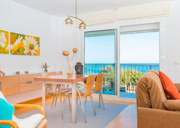 Malgrat de Mar Seaview Apartment